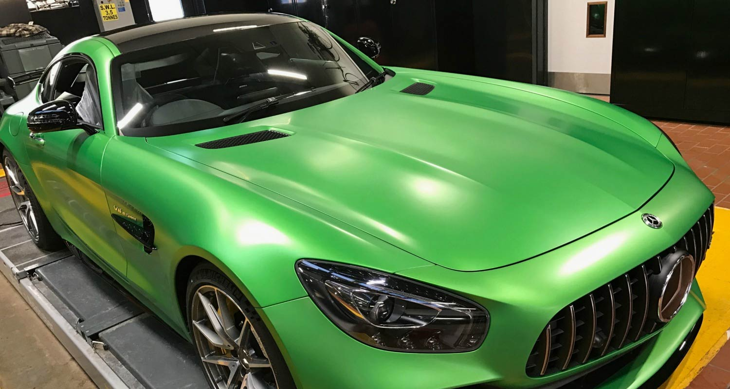 Mercedes best car paint protection bodyguard for Best car paint